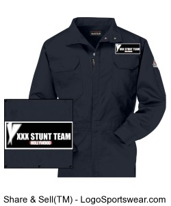 Deluxe Mens Coverall Design Zoom