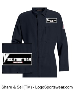 Contractor Mens Coverall Design Zoom